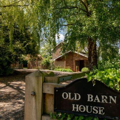 Old Barn House Entrance